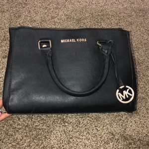 MICHAEL KORS unauthenticated black purse